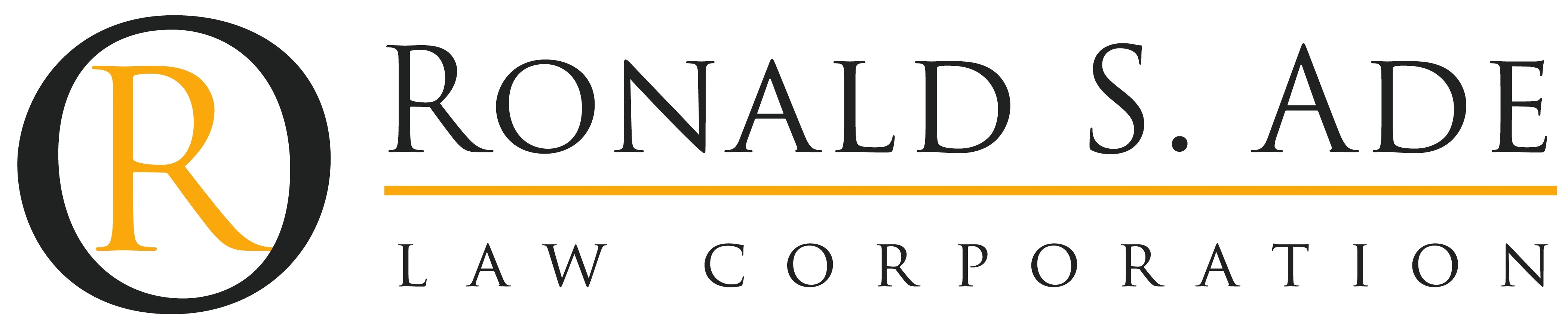 Ronald S. Ade Law Corporation